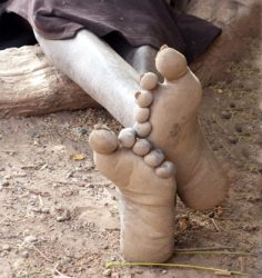THE FEET OF A WOMAN NAMED POKO